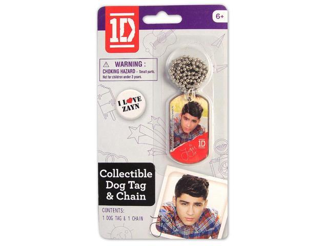 1D One Direction Collectible Dog Tag Necklace: Zayn
