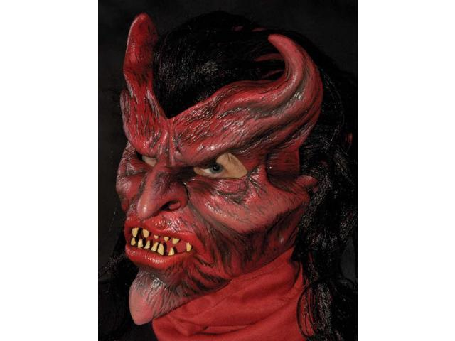 Devil May Care Full Action Costume Mask