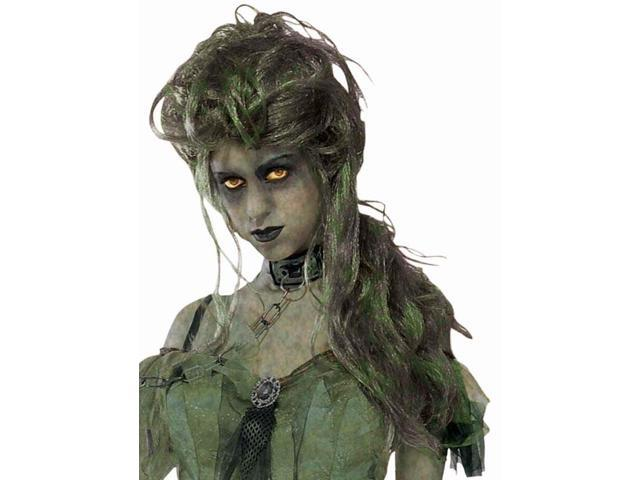Lady Zombie Adult Costume Wig