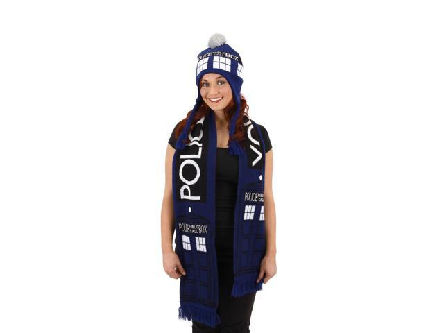 Doctor Who TARDIS Costume Scarf Adult One Size