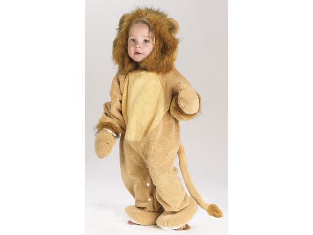 Fuzzy Tail Lion Costume Baby 12-24 Months