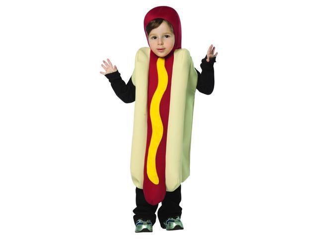 Hot Dog Costume Child Toddler 3-4T