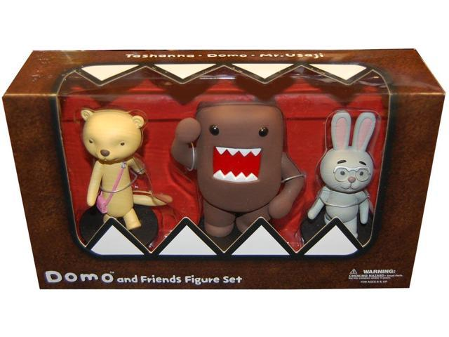 Domo & Friends Deluxe Figure Set Of 3
