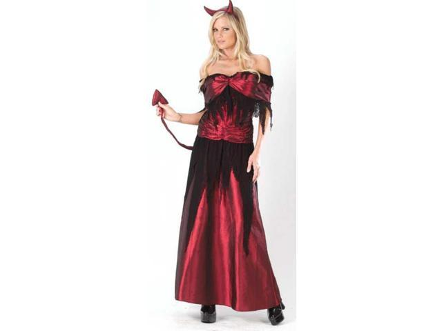 Sexy Devil Sorceress Costume Adult Medium/Large
