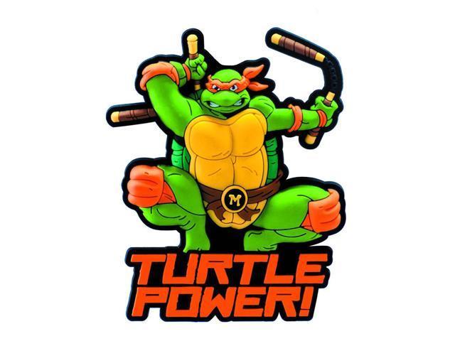 Teenage Mutant Ninja Turtles Soft Touch PVC Magnet: