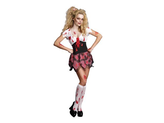 Sexy High School Horror Ghoul Dress Costume Adult X-Large 14-16