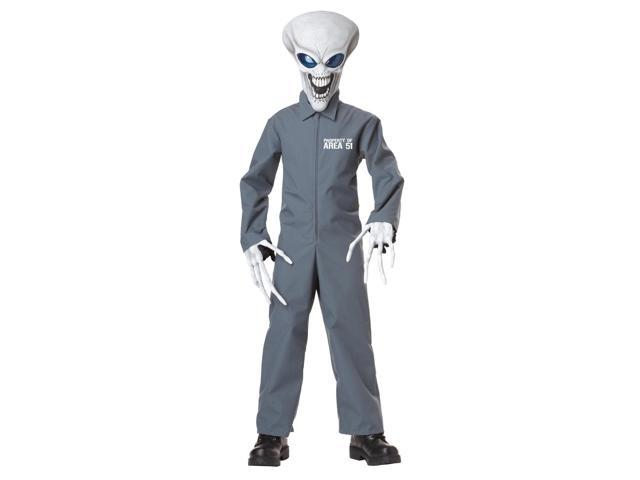 Property Of Area 51 Alien Costume Child Large 10-12