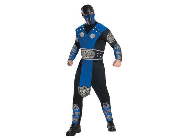 Mortal Kombat Sub Zero Costume Adult X-Large 44-46