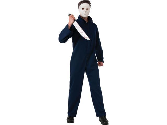 Halloween Michael Myers Deluxe Costume Adult One Size Fits Most