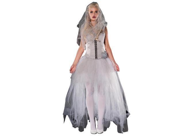 Blythe Spirit Wedding Dress Costume Adult Large Newegg
