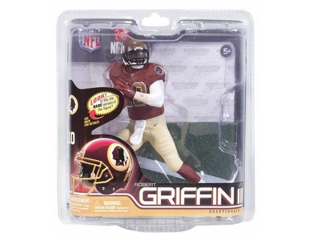 McFarlane NFL 31 Robert Griffin III Redskins Throwback Jersey Exclusive