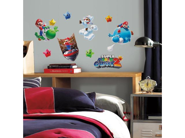 Super Mario Galaxy 2 Peel And Stick Wall Decal Set