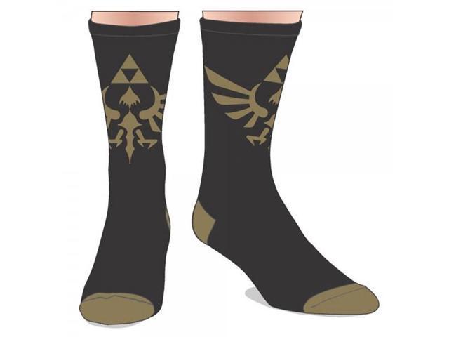 Nintendo Zelda Sublimated Crew Socks