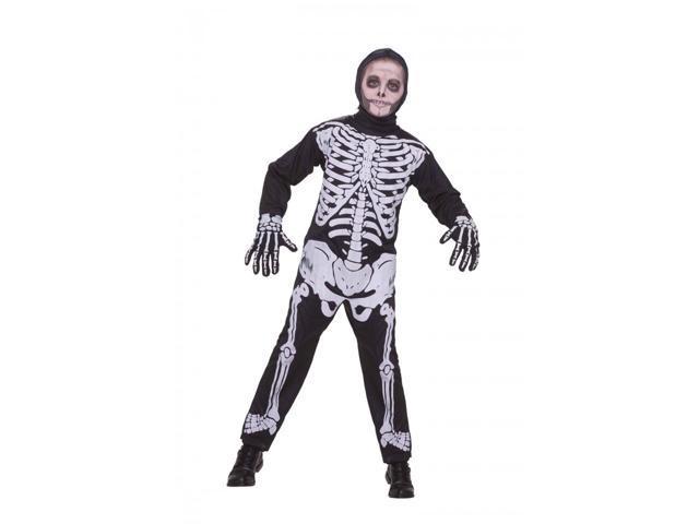 Child Skeleton Costume Medium