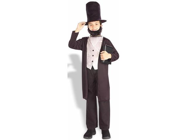 Abe Lincoln Costume Child Large
