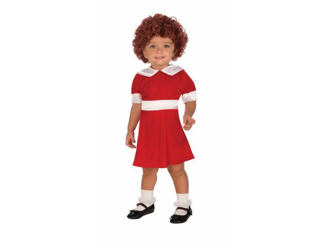 Little Orphan Annie Costume Child Toddler One Size Fits Most