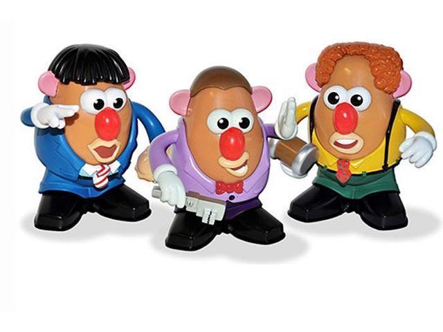 Mr Potato Head Three Stooges Set Of 3