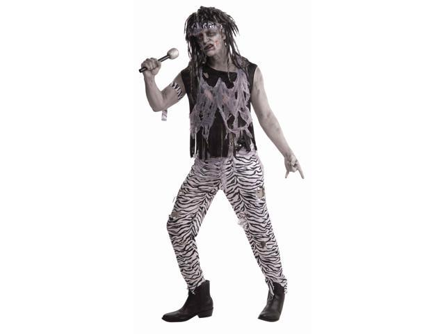 Zombie Rock Star Costume Adult Standard
