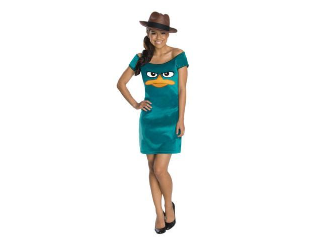 Phineas And Ferb Sassy Agent P Dress Costume Teen One Size Fits Most