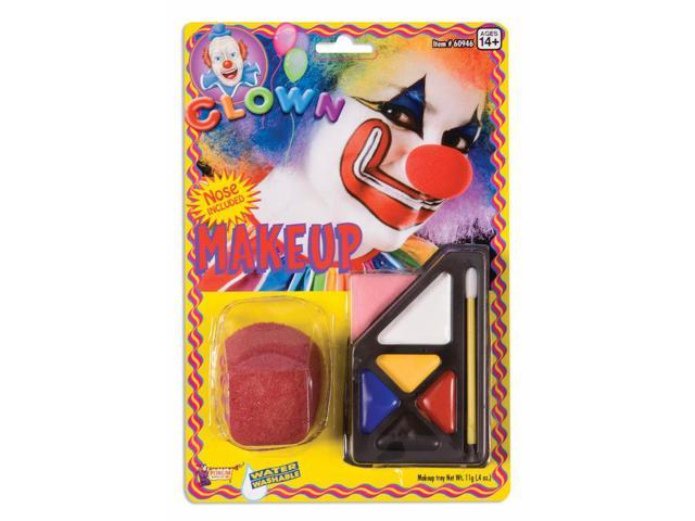 Circus Clown Make Up Costume Kit