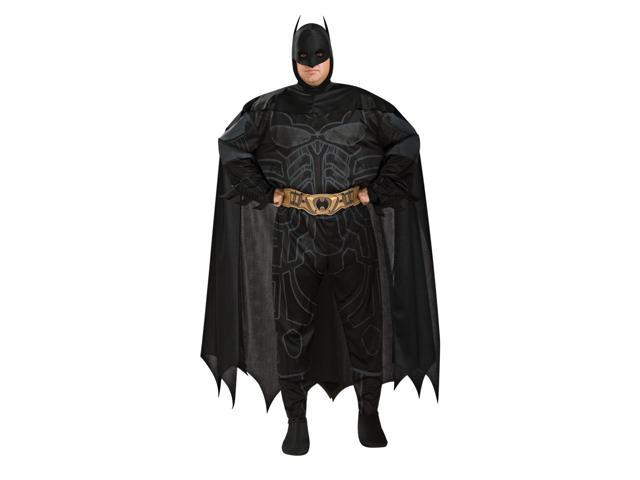 Batman Jumpsuit Costume Adult Plus Plus Size 46-52