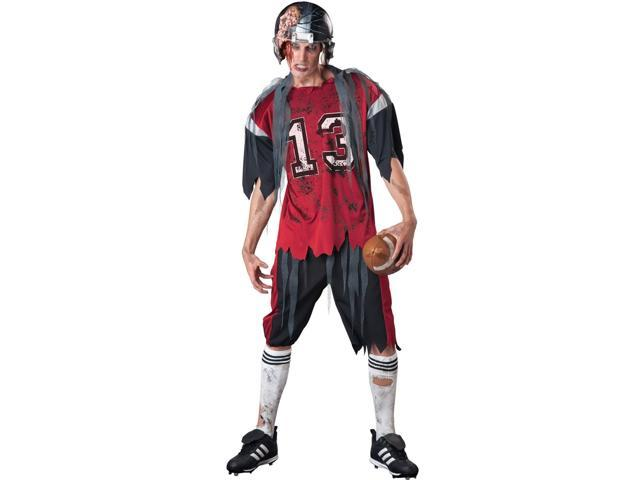 Dead Zone Zombie Football Costume Adult X-Large