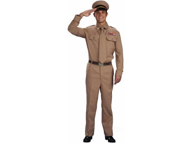 WWII Army General Costume Adult Plus Plus