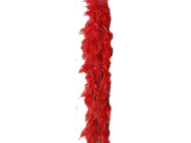 Red Turkey Costume Boa