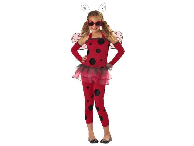 Love Bug Ladybug Costume Child X-Small 4-6