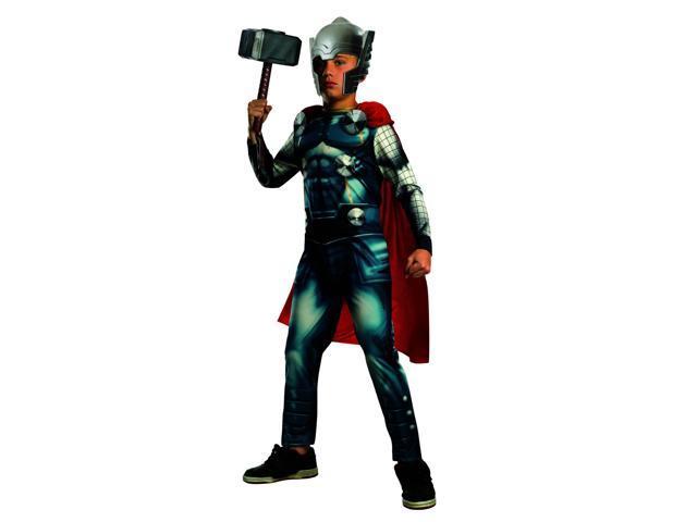 Avengers Assemble Marvel Thor Child Costume Small