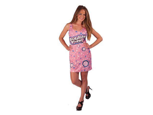 Bubble Yum Costume Original Teen Tank Dress Teen One Size Fits Most
