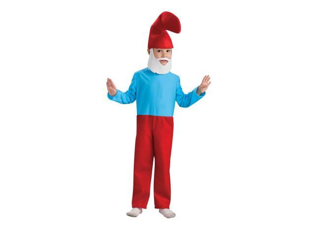 The Smurfs Movie Papa Smurf Costume Child Medium