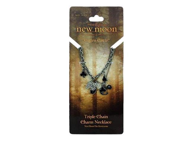 Twilight Triple Charm Necklace