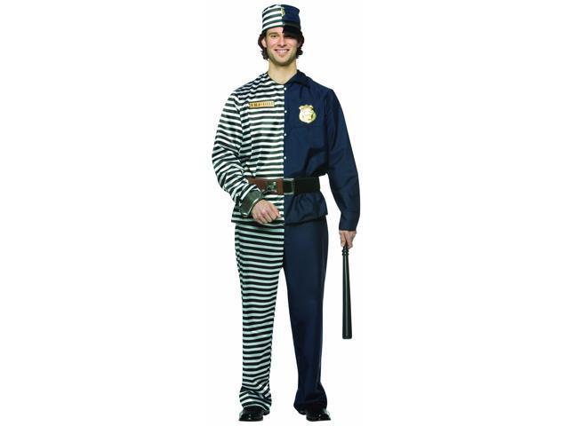 Prisoner/Cop Combo Costume Male Adult Standard