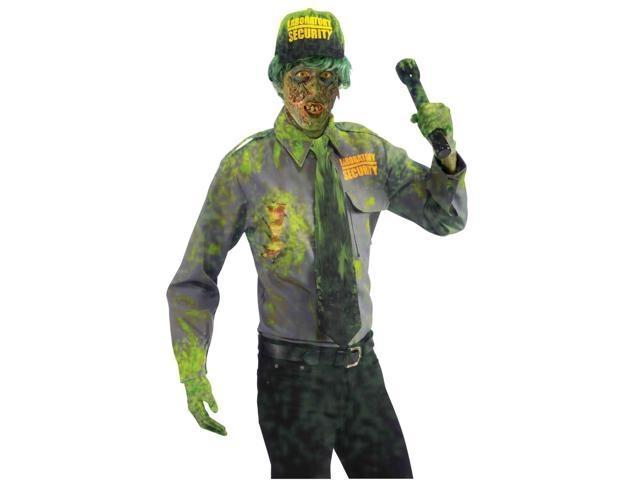 Zombie Security Guard Adult Male Costume One Size Fits Most