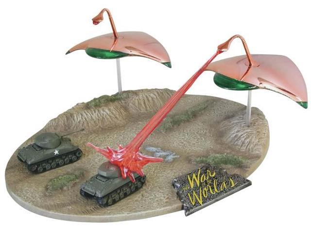 The War Of The Worlds War Machines Attack Diorama Model Kit