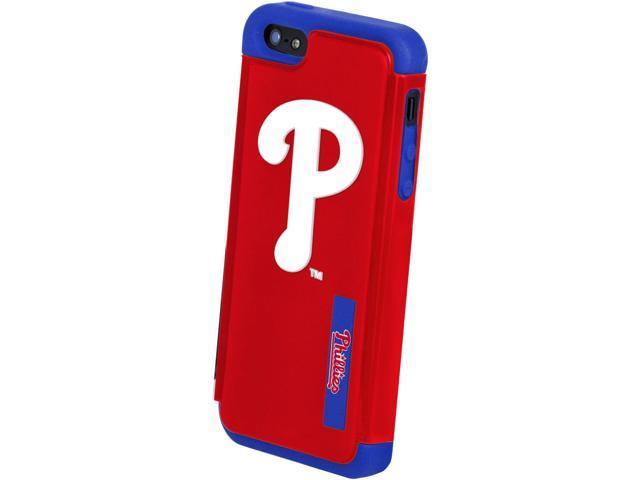 Philadelphia Phillies MLB Dual Hybrid 2-Piece Apple iPhone 5 Cover