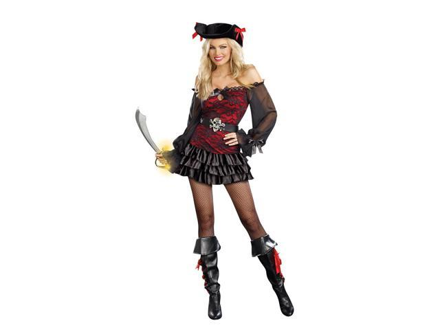 Sexy Precious Booty Pirate Costume Dress Adult Large