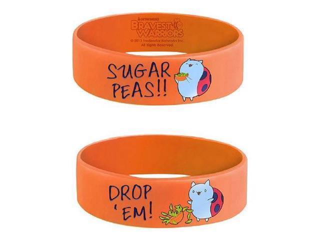 Bravest Warriors Sugar Peas Silicone Bracelet
