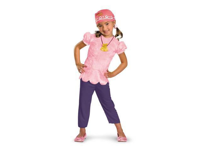 Disney Jake & The Neverland Pirates Izzy Costume Child Toddler Small 2T