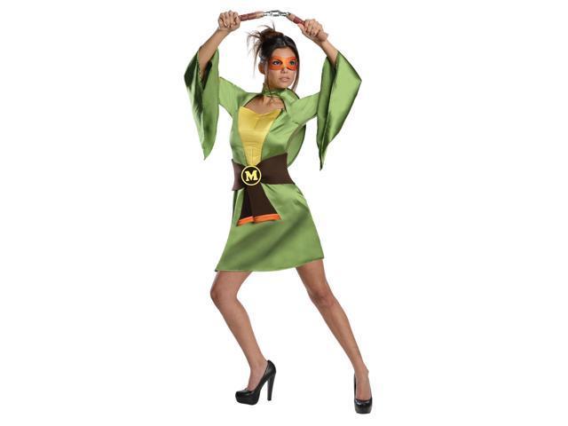 T.M.N.T. Sexy Michelangelo Kimono Costume Adult X-Small