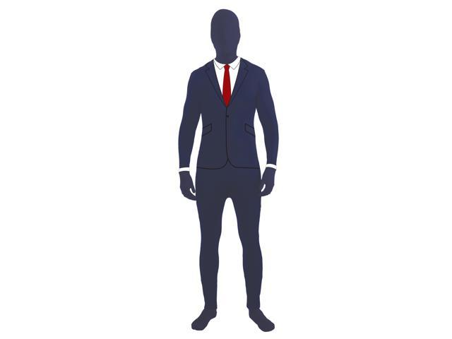 Disappearing Man Invisible Costume Jumpsuit Child: Business Suit Large
