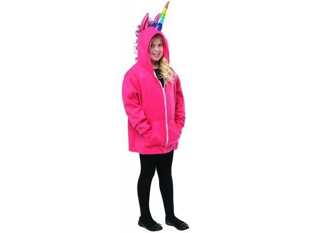 Unicorn Hoodie Child Costume 7-10