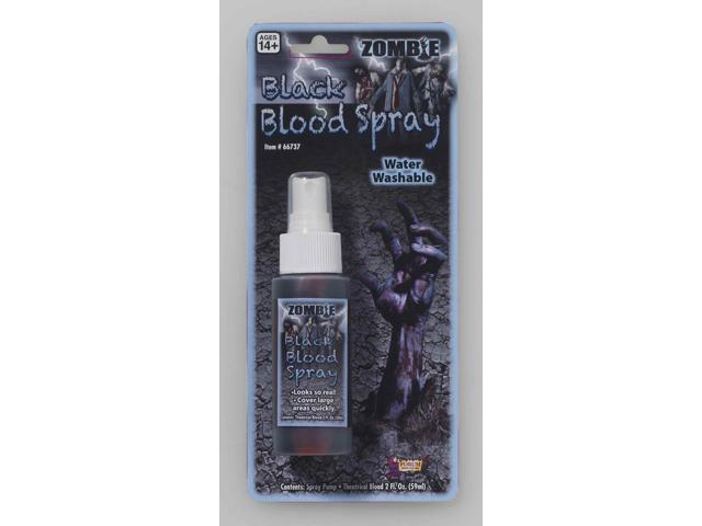 Zombie Black Blood Spray Costume Makeup Accessory