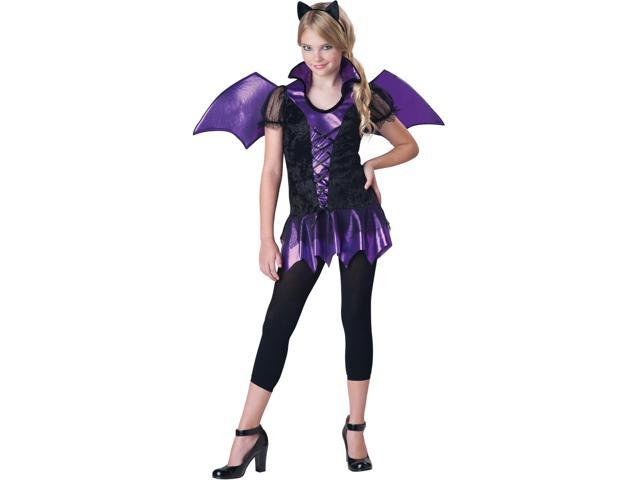 Bat Reputation Costume Dress Tween Large