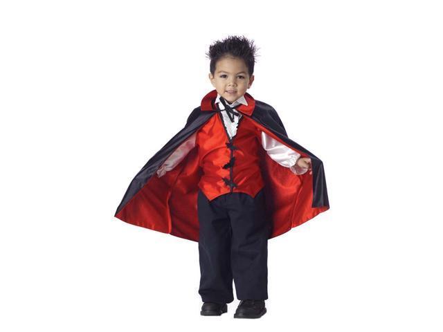 Vampire Dracula Costume Toddler Toddler