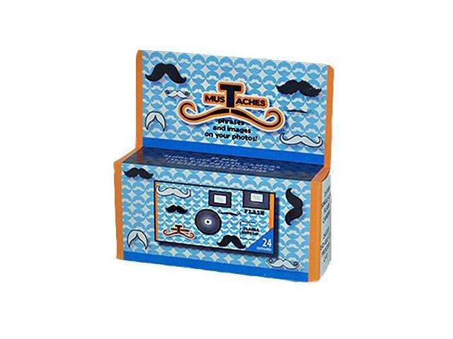 Disposable 24 Exposure Mustache Camera