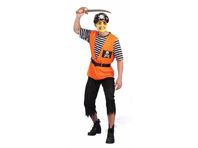 Retro Classic Pirate Costume Adult Standard
