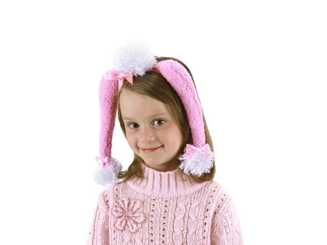 Pink Poodle Costume Kit Adult One Size