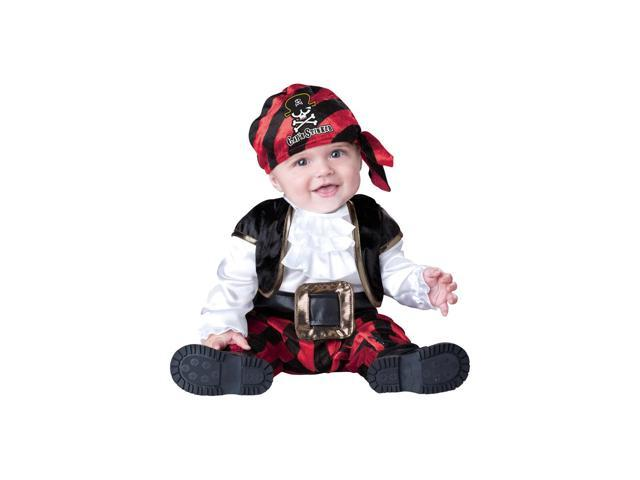 Captain Stinker Pirate Deluxe Infant Toddler Costume 12-18 Months